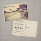 Krista - 4x6 Vintage Photo Save the Date Postcard card