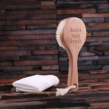 Groomsmen Bridesmaid Gift Bath Brush