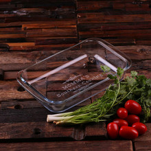 Groomsmen Bridesmaid Gift Casserole Baking Dish 1 Liter