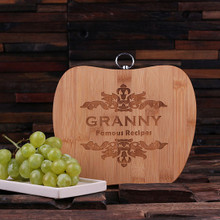 Groomsmen Bridesmaid Gift Cutting Board – Apple Shaped