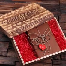 Groomsmen Bridesmaid Gift Valentines Day Set of 2 Journals
