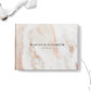 Marble wedding guest book