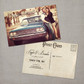 Kaylee - 4x6 Vintage Photo Save the Date Postcard card