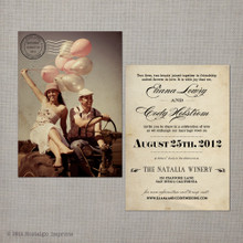 Eliana - 5x7 Wedding Invitation