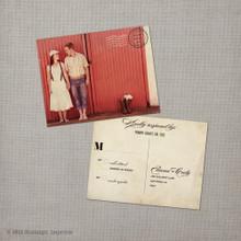 Eliana - 4.25x5.5 Vintage RSVP Postcard