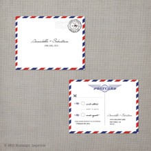 Annabelle - 4.25x5.5 Vintage RSVP Postcard