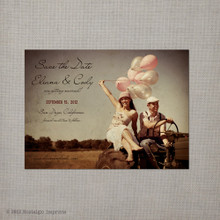 Eliana - 4x5.5 Vintage Save the Date Magnet