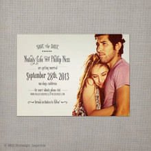 Nataly - 4x5.5 Vintage Save the Date Magnet