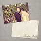Annalise - 4x6 Vintage Wedding Thank You Card