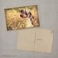 Bella - 4x6 Vintage Wedding Thank You Postcard card