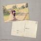 Tahlia - 4x6 Vintage Wedding Thank You Postcard Card