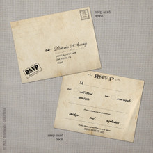 Victoria - 4.25x5.5 Vintage RSVP Postcard