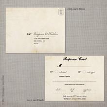 Madeline 2 - 4.25x5.5 Vintage RSVP Postcard