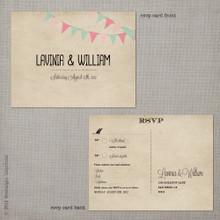 Lavinia - 4.25x5.5 Vintage RSVP Postcard