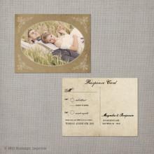 Magnolia - 4.25x5.5 Vintage RSVP Postcard