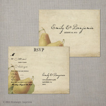 Perfect Pair - 4.25x5.5 Vintage RSVP Postcard