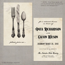 Celebrate - 4x6 Wedding Rehearsal Dinner Invitation