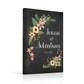 Chalkboard wedding guestbook guest book