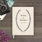 wedding guest book Guestbook - Wreath 1 (gb0005)