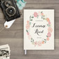 Wedding guest book Guestbook - Floral Wreath 2 (gb0025)