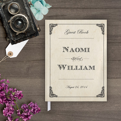 Guestbook - Elegant Frame Guestbook