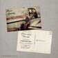 Oliver - 4x6  Vintage Graduation Invitation Announcement card