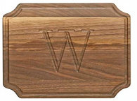 Selwood Walnut 9x12 Personalized Cutting Board