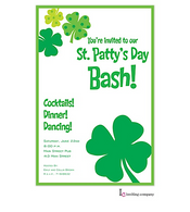 St. Patty Flair St. Patrick's Holiday Party Invitation