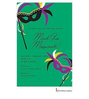 Masks Mardi Gras Party Invitation