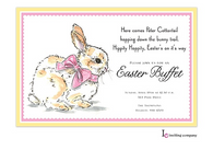 Sweet Bunny Easter Holiday Party Invitation
