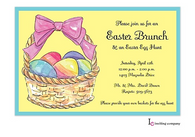 Sunny Easter Holiday Party Invitation