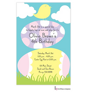 Chick Stack Easter Holiday Party Invitation