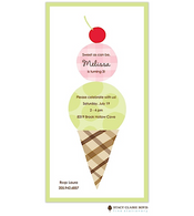 Cherry On Top Kids Party Invitation