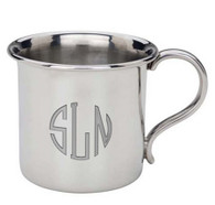 Personalized Pewter Concord Baby Cup