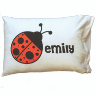 Personalized Pillowcase - Ladybug