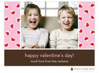 Valentine Hearts Digital Photo Card