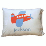 Personalized Pillowcase - Airplane