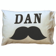 Personalized Pillowcase - Mustache