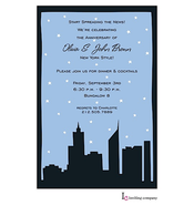 Silhouette City Invitation