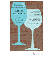 Wine Chatter Invitation