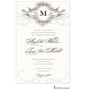 Dove Flourish Invitation