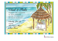 Tiki Shack Invitation