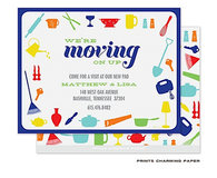 Colorful Kitchen Tools Sweet Petite Invitation