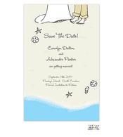 Beach Vows Invitation