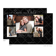 Damask Beautiful Photo Layout Digital Photo Save The Date