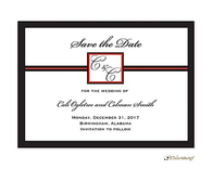Initial or monogram Save The Date