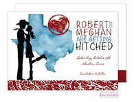 Texas Couple Invitation