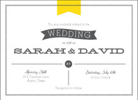 Flag Scroll Custom Invitation