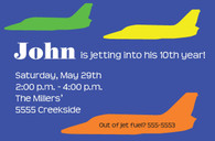Jet Custom Invitation
