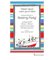 Boat Party Invitation